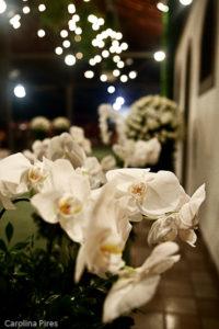Orquídeas no caminho da noiva!