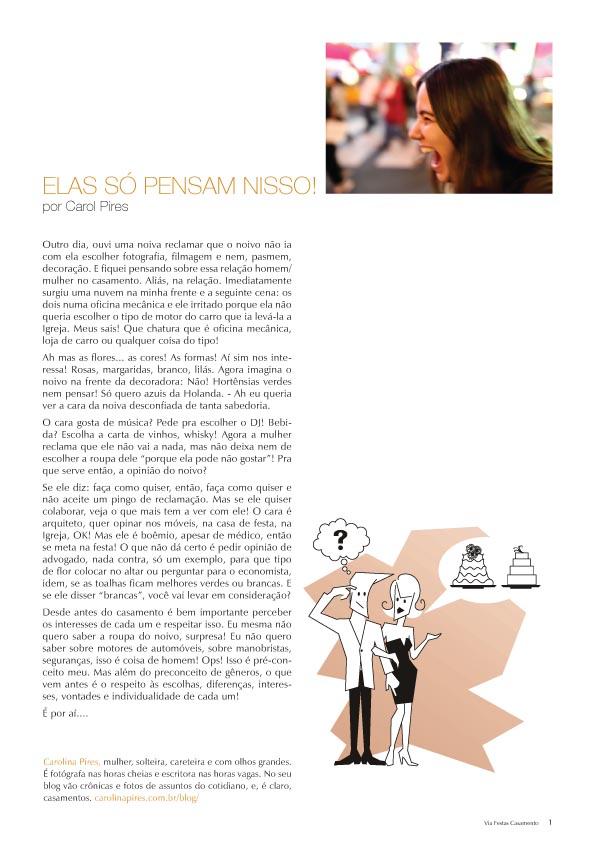 Crônica na Revista