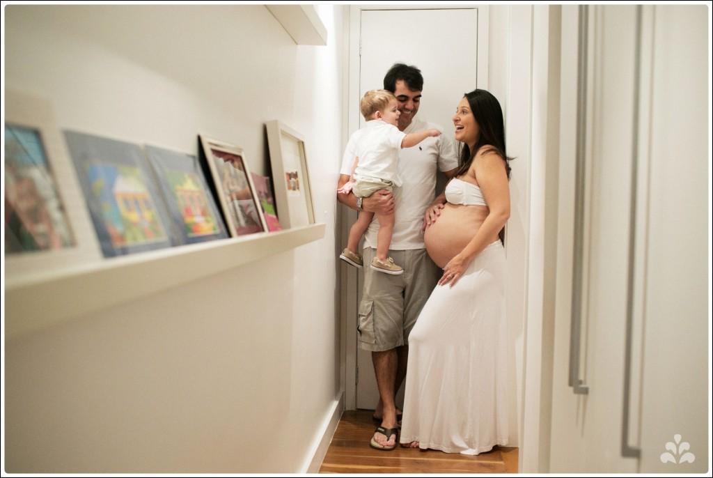 grávida aos 8 meses