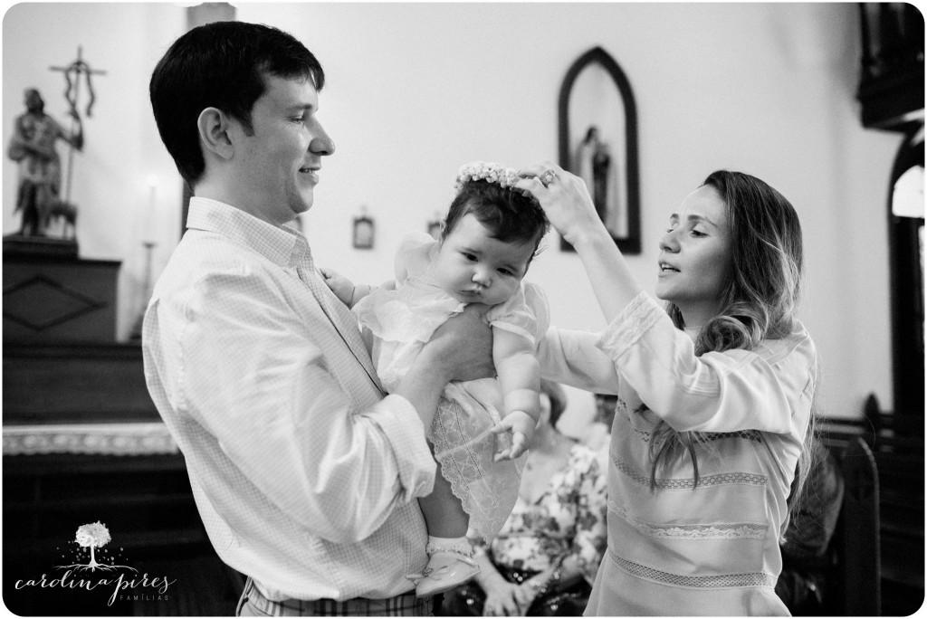 família e o batismo