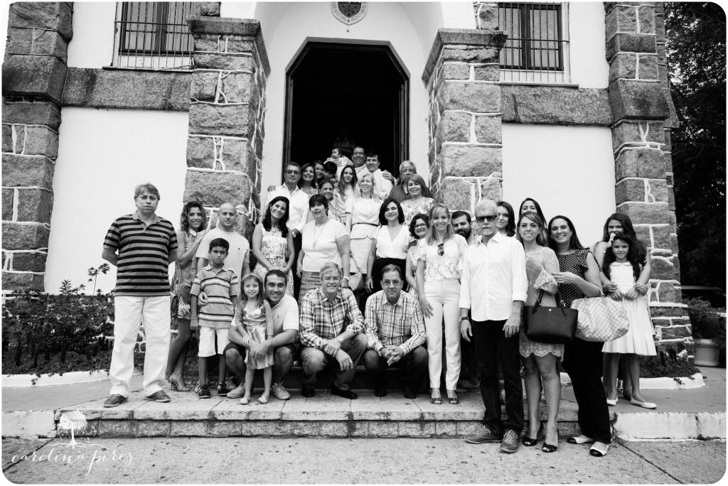 Fotografia de Família no Batizado