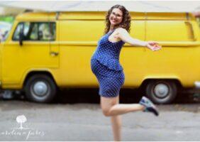 fotografia de grávida, 38 semanas